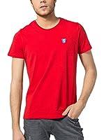 Jimmy Sanders Camiseta Manga Corta (Rojo)