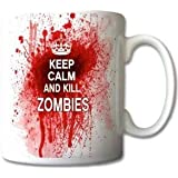 Keep Calm and Kill Zombies - Ceramic Mug