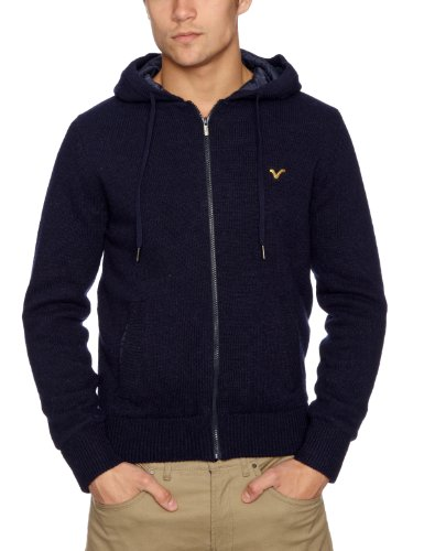 Voi Hobart Plain Men's Jumper Navy Small