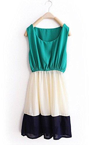 Binny-Creation-Womens-Georgette-Sea-Green-Western-Tunic-DressBinnySea-green-WBTOP