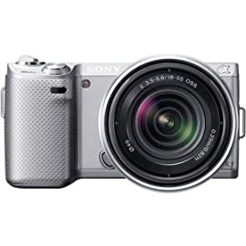 Sony NEX-5N 16.1 MP Compact Interchangeable Lens Touchscreen Camera with 18-5...
