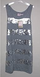 AUTHENTIC Juicy Couture Sequin Dress Black or Grey