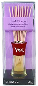 WoodWick Mini Reed Diffuser, Fresh Flowers