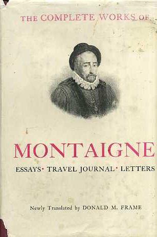 montaigne essays read online
