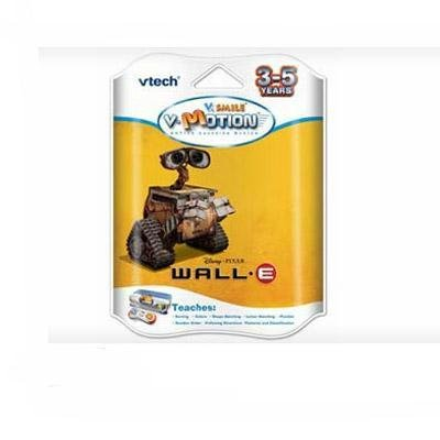 NEW Vtech Electronics V.Smile V-Motion Wall-E Help The Kids Improve All Kinds Of Skills Popular