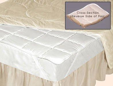 Natural Silk Filled Mattress Pad
