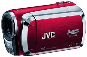 JVC Everio GZ-HM200 Dual SD High-Def Camcorder (Red)