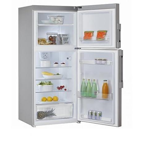 Whirlpool WTV42352TS réfrigérateur-congélateur - réfrigérateurs-congélateurs (Autonome, Placé en haut, A++, Argent, T, Non, 4*)