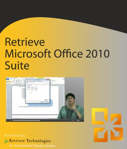 Retrieve Training For Microsoft Office 2010 Suite For Pc [Download]