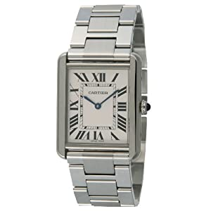 Cartier Men's W5200014 Tank Solo Large Watch