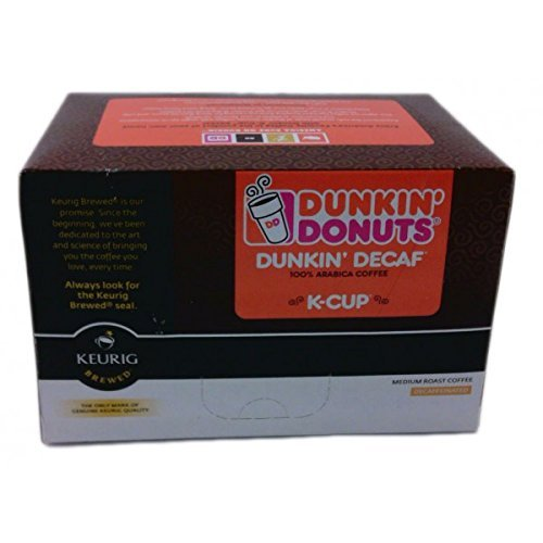 Dunkin Donuts K-Cups Decaf - 24 Kcups for use in Keurig Coffee Brewers 5.1oz (Keurig Dunkin Donuts Decaf compare prices)
