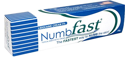30g NUMBFAST 5% Anesthetic Skin Numbing Cream Numb Tattoo Laser Piercing Waxing DELIVERY 2 - 4 DAYS!