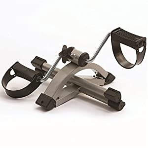 Pedal Exerciser bike mobility aid with adjustable resistance