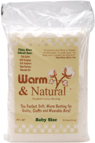 Warm & Natural Cotton Batting-Crib Size 45