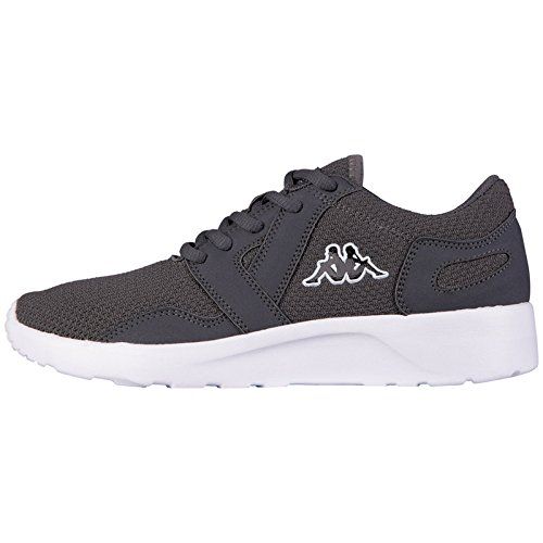 kappa-clovis-sneakers-basses-adulte-mixte-gris-grau-1310-anthra-white-40
