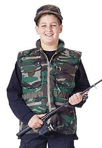 8555 Kids Ultraforce Camouflage Ranger Vest (Medium)