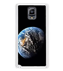 Earth 2D Hard Polycarbonate Designer Back Case Cover for Samsung Galaxy Note 3 :: Samsung Galaxy Note III :: Samsung Galaxy Note 3 N9002 :: Samsung Galaxy Note N9000 N9005