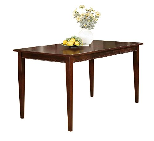 Kings Brand Cherry Finish Wood Dining Room Kitchen Rectangular Table (Cherry Dining Room Table compare prices)