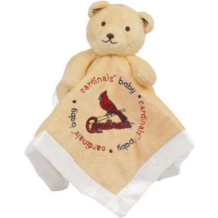 Baby Fanatic St. Louis Cardinals Security Bear Blanket, 14 X 14-Inch front-355032