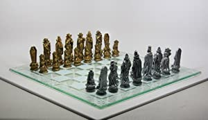 Skeleton Battle of Underworld Chess Set 383