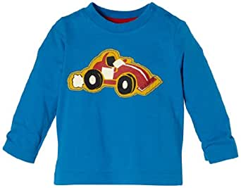 Esprit Baby - Jungen Shirt 093Eebk006, Gr. 74 (9 Monate), Blau (468 Indian Blue)