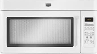 Maytag MMV1164WW 1.6 Cu. Ft. White Over-the-Range Microwave
