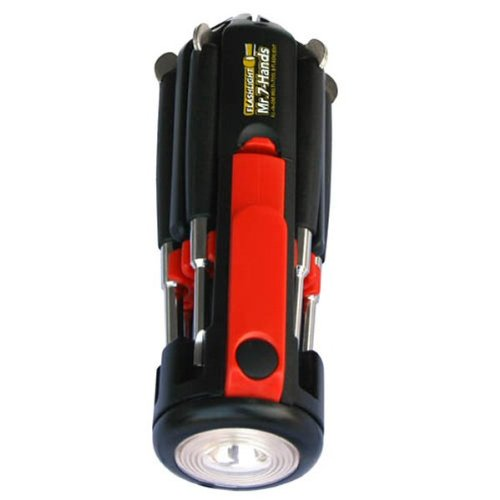 Apollo Precision Tools DT1719 Flashlight Mr. 7 Hands Screwdriver
