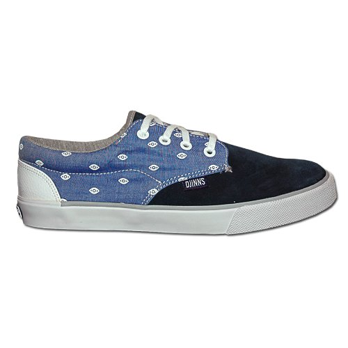 Djinns - NICE DIRTY VELVET - Low Top - Sneaker - Blau / Weiß-42