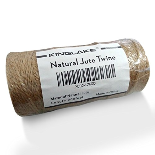 KINGLAKE-Natural-Jute-Twine-Best-Arts-Crafts-Gift-Twine-Christmas-Twine-Industrial-Packing-Materials-Durable-String-for-Gardening-Applications