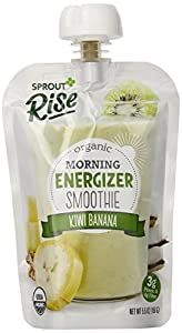 Sprout Rise Smoothie, Kiwi Banana, 5.5 Ounce (Pack of 5)