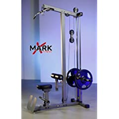 XMark Commercial Lat Pulldown and Low Row Cable Machine by XMark Fitness