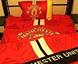 Manchester United (掛け布団カバー シーツ 枕カバー)  3点セット  マンチェスターユナイテッド  シングルサイズ