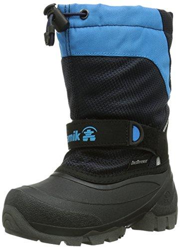 KamikICEBERG - Scarponi da neve imbottiti, a mezza gamba Unisex - bambino , Blu (Blau (NAVY/BLEU (NAV))), 26
