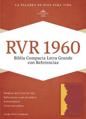 Biblia Compacta Letra Grande Con Referencias-Rvr 1960