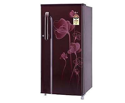 LG GL-B205XSHZ Direct-cool Single-door Refrigerator (190 Ltrs, 5 Star Rating, Scarlet Heart)