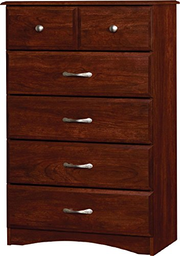 Essential Home Grayson 5 Drawer Dresser – Cherry