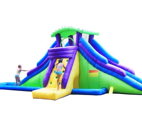 Inflatable Water Slide Az: KidWise Dueling Back To Back Waterpark
