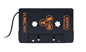 Griffin Direct Deck Universal Cassette Adapter for MP3 Players (Black)
