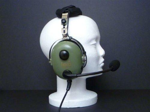 Faro G2 - Premium Pilot Aviation Headset, w/ Mp3 Input - Green