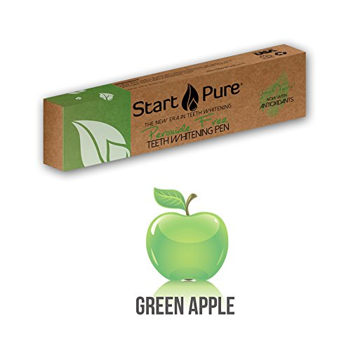 Start Pure Peroxide Free Teeth Whitening Gel Pen (Green Apple)