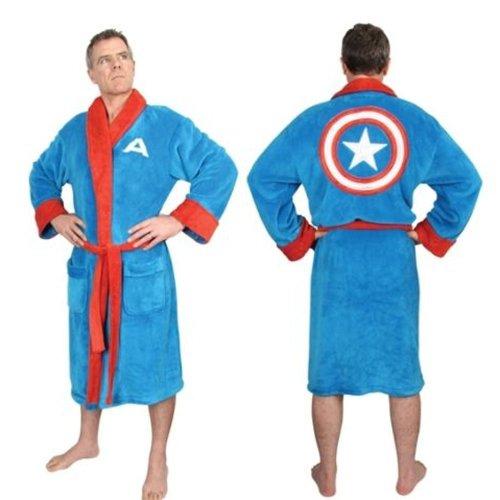 Marvel Captain America Fleece Robe