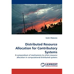 Amazon.com: Distributed Resource Allocation for Contributory ...