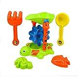 Kinder Strand Am Meer Wasser Spielzeug Sanduhr Schildkröte Form Satz Von 5