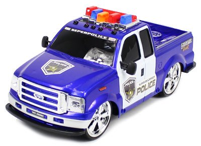 Exciting Lights & Music Police Ford F-250 1:14 Electric RTR RC Truck