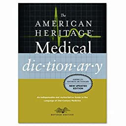 Houghton Mifflin American Heritage Stedman\'s Medical Dictionary, Hardcover, 944 Pages