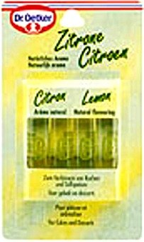 Dr. Oetker Lemon Flaforing -4 Pack (Gourmet,Dr. Oetker,Gourmet Food,Baking Supplies)