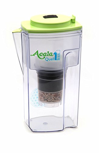 Water-Filter-AcalaQuell-One-Water-Filter-Jug-Light-Green-Highest-Filtration-Performance-Multi-Layered-Filter-Cartridge-PI-Technology-Sponge-Filter-Water-Filter-System-Principles-of-nature-intense-RD-C