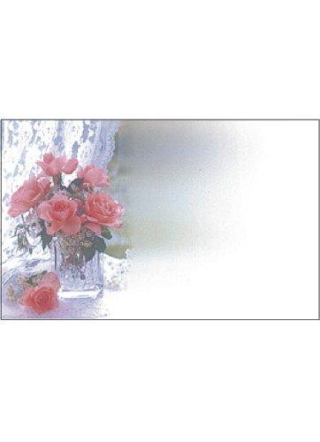 50 Memo/Enclosure/Floral/Gift Cards - Roses (MC2068)