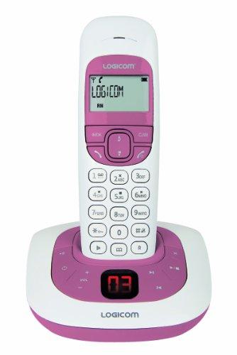 Téléphone répondeur DECT Soly155T DECO - magnolia