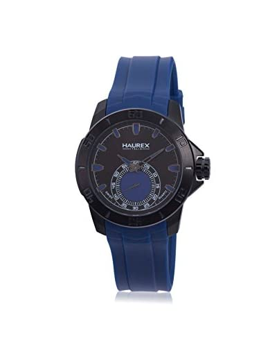 Haurex Men's 3N503UBB Acros Blue/Black Rubber Watch